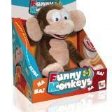 Animal de plus - Jucarie de plus crazy monkey, IMC Toys