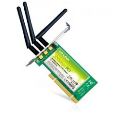 Placa retea: TP-LINK 300 Mbps Wireless PCI