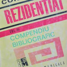 Concurs rezidentiat - Compendiu bibliografic (vol.3)
