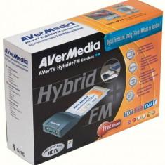 Tuner TV AVERMEDIA model: AVERTV HYBRID (telecomanda) PCMCIA - TV-Tuner PC