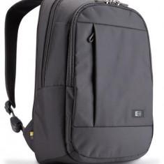 Rucsac laptop 15.6 Case Logic, buzunar intern tableta, 2 buzunare frontale, nylon, gri (MLBP115GY)