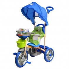 TRICICLETA DHS MERRY RIDE 107A-2-Roz - Tricicleta copii DHS Baby