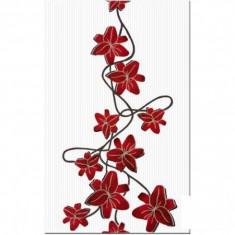 Faianta decorativa Cesarom America rosu - 25 x 40 cm