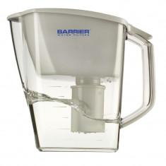 Aparate Filtrare si Dozatoare Apa - Cana de filtrare apa Barrier Grand Timer Alb, indicator