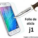 FOLIE STICLA Samsung Galaxy J1 0.33mm, 2.5D tempered glass securizata PROTECTIE - Folie de protectie Samsung, Anti zgariere