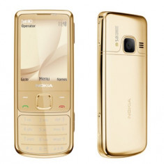 Telefon mobil Nokia 6700 Classic, Auriu, Neblocat - Nokia 6700 Gold no nout, 12luni garantie doar telef+incarcator !PRET:850lei