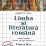 Beletristica - Limba si literatura romana. Manual pentru Scoala de Arte si Meserii. Clasa a IX-a