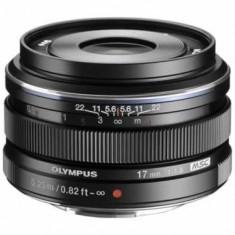 Olympus M.Zuiko digital 17mm 1:1:8 / EW-M1718 black - Obiectiv DSLR
