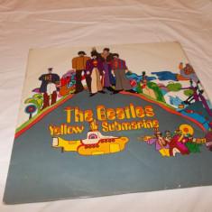 THE BEATLES -YELLOW SUBMARINE - VINYL ORIGINAL ! - Muzica Rock emi records, VINIL