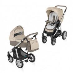 Carucior copii 2 in 1 - Carucior 2 in 1 Dotty Beige Baby Design