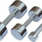 Gantere cromate 2×3 kg