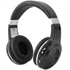 Casti Wireless Bluetooth Bluedio H+ Turbine Super Bass RadioFm CARD - Casti Telefon, Negru, Pe ureche, Conectivitate wireless: 1, Conectivitate bluetooth: 1