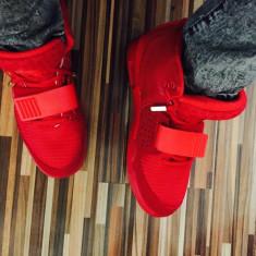 Vand adidas / gheata NIKE YEEZY 2 RED OCTOBER --- PE STOC !! CURIER GRATUIT !! - Adidasi barbati, Marime: 39, 40, 41, 42, 43, Culoare: Rosu