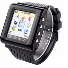 Smartwatch - Ceas Telefon GSM AK812 1.44 inch touch screen, bluetooth, MP3/4, Video, FM