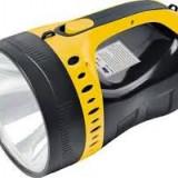 Lanterna NightSearcher tip Reflector CREE T6 2 Faze+acumulator incorporat 4 A Lanterna NightSearcher munte
