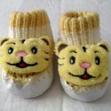 Botosei copii cap de tigru foarte draguti marimea 17 (3 - 9 luni) - Botosi copii, Culoare: Din imagine