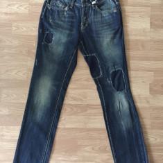 Blugi barbati, Lungi, Cu rupturi, Slim Fit, Normal - Blugi Reign italia jeans Barbati