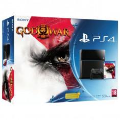 Consola PlayStation - Sony Consola PS4 500GB + Joc GOD OF WAR 3 REMASTERED