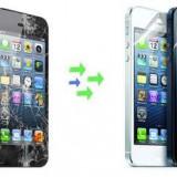 Gevey SIM - Inlocuire Geam Sticla iPhone 5 Negru