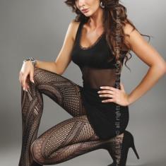 Livia Corsetti 217-1 Ciorapi sexy cu model din plasa - Sosete dama LIVIA CORSETTI, Marime: Marime universala