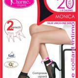GAT13-1 Ciorapi Charme Monica 1/4 tip sosete, set 2 perechi - Sosete dama