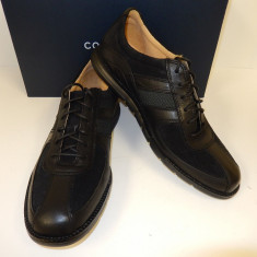Pantofi barbati, Piele naturala - PANTOFI COLE HAAN GRANDSPRINT SPORT OXFORD II NEGRU PIELE
