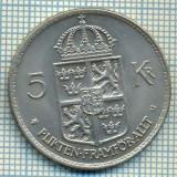 6793 MONEDA - SUEDIA(SVERIGE) - 5 KRONOR - ANUL 1972 -starea care se vede, Europa, An: 1940