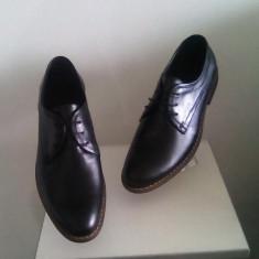 Pantofi barbati - PANTOFI BARBATESTI TIP ZARA CASUAL ELEGANTI DIN PIELE NATURALA