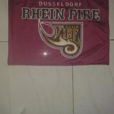 Mini steag moto Dusseldorf Rhein Fire - Steag fotbal