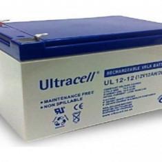 UPS, Fara management - Acumulator/ Baterie Ultracell 12V 12Ah - factura si garantie