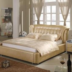 Pat dormitor - Paturi piele AH321