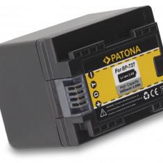 PATONA | Acumulator pt Canon LEGRIA HF M52 HF M56 HF R38 R36 R306 BP-727 BP727 - Baterie Aparat foto