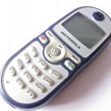 Telefon Motorola, Albastru, Nu se aplica, Neblocat, Fara procesor