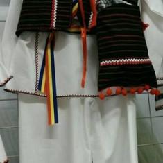 Costum popular baieti 134-146 cm 100% bumbac - Costum populare, Marime universala, Negru