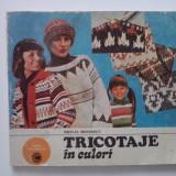 Tricotaje in culori - Emilia Moisescu / R7P1F - Carte design vestimentar