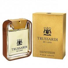 Trussardi My Land EDT 50 ml pentru barbati - Parfum barbati Trussardi, Apa de toaleta