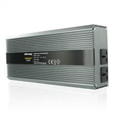 Whitenergy Invertor de tensiune 06591, 12V/230V, 2000W - Invertor Auto