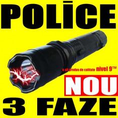 POLICE Lanterna + Electrosoc + Husa