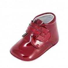 Ghete copii - Ghetute visinii cu fundita din lac 16 (9.5 cm) Leon Shoes