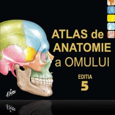 Atlas de Anatomie a Omului F.H.Netter editia a 5-a(ultima) Nou