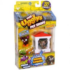 Roboti de jucarie - The Ugglys Pet Shop - Casuta cu Chihuahua Chucky
