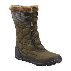 Cizme de iarna Columbia Minx Mid II Omni-Heat Tweed (CLM-BL1624) - Cizme dama Columbia, Marime: 36, 38, Culoare: Maro