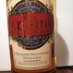 RARE whisky old finil, blended, finset spanish whisky, 3 years,  cl.70 gr. 40