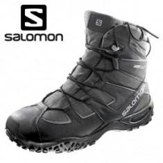 Bocanci barbati - Bocanci Salomon Snowtrip waterproof ghete iarna munte tura 200g thinsulate