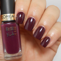OJA L`OREAL PARIS COLOR RICHE COLLECTION EXCLUSIVE BLAKE`S PURE RED BURGUNDY, Rosu