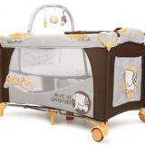 Patut Pliant Bebe Moni Happy Baby Safari Park - Patut pliant bebelusi