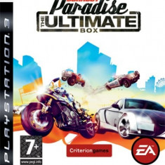 Burnout Paradise The Ultimate Box Ps3 - Jocuri PS3 Electronic Arts