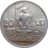 ROMANIA, 20 LEI 1951 (1) - Moneda Romania, Aluminiu
