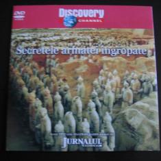 Secretele armatei ingropate - DVD - Film documentare Altele, Romana