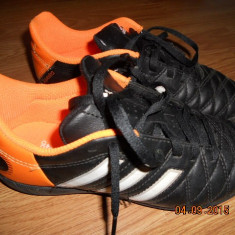 Adidasi de footbal pentru teren sintetic marca ADIDAS - Ghete fotbal Adidas, Marime: 35.5, Culoare: Negru, Copii, Teren sintetic: 1